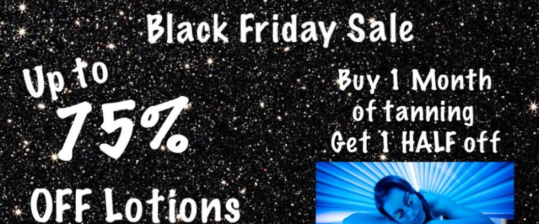 While we will be closed Thursday and Friday we are happy to post our Black Friday Special!